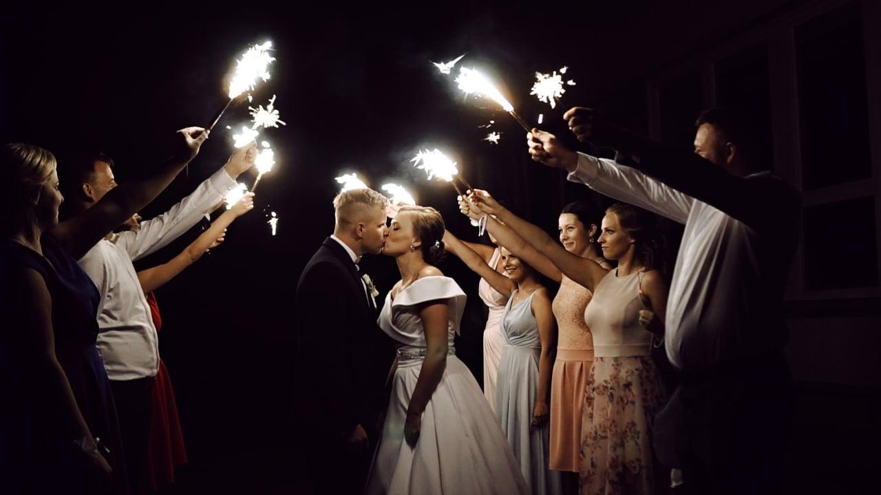Alena a Damián svadobný videoklip
