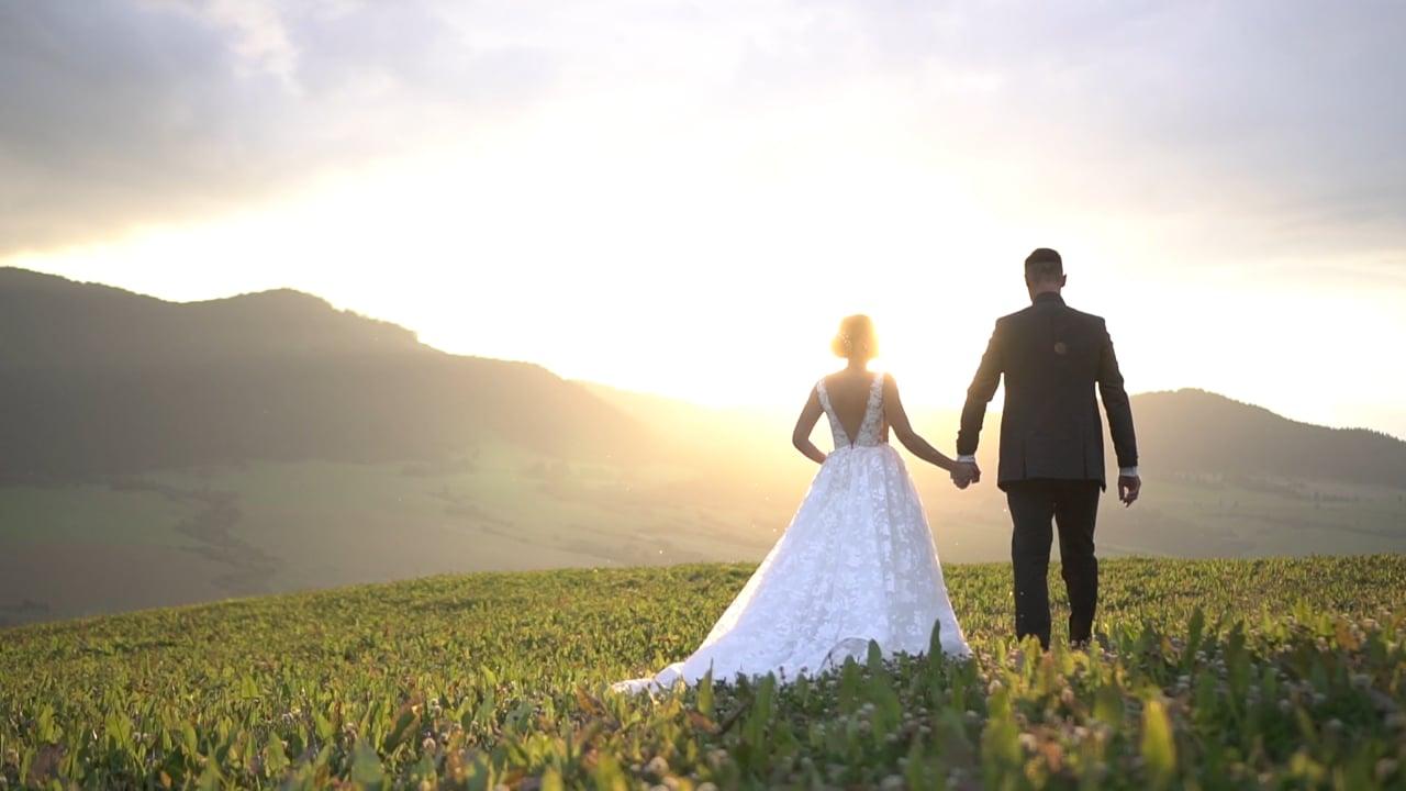 Anička a Ján svadobný videoklip