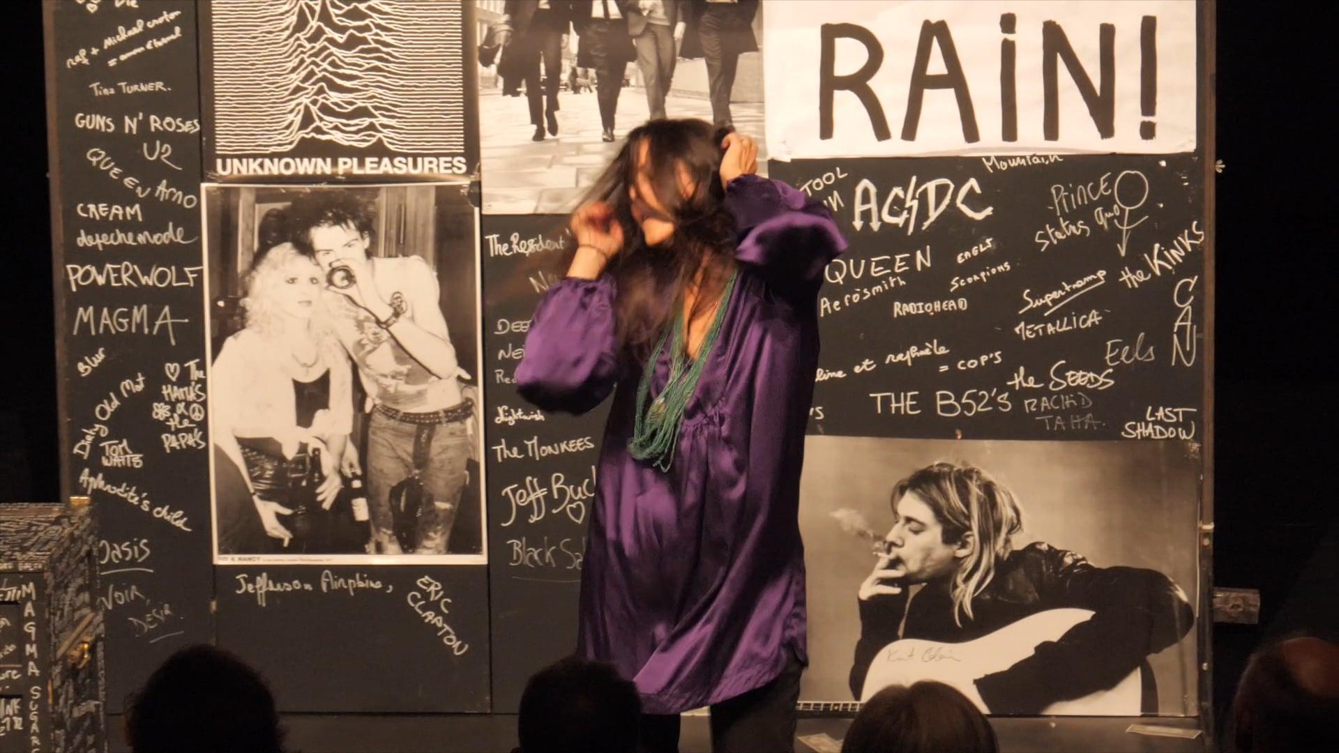 L'Histoire du Rock par Raphaèle Bouchard - mise en scène Thomas Quillardet - teaser