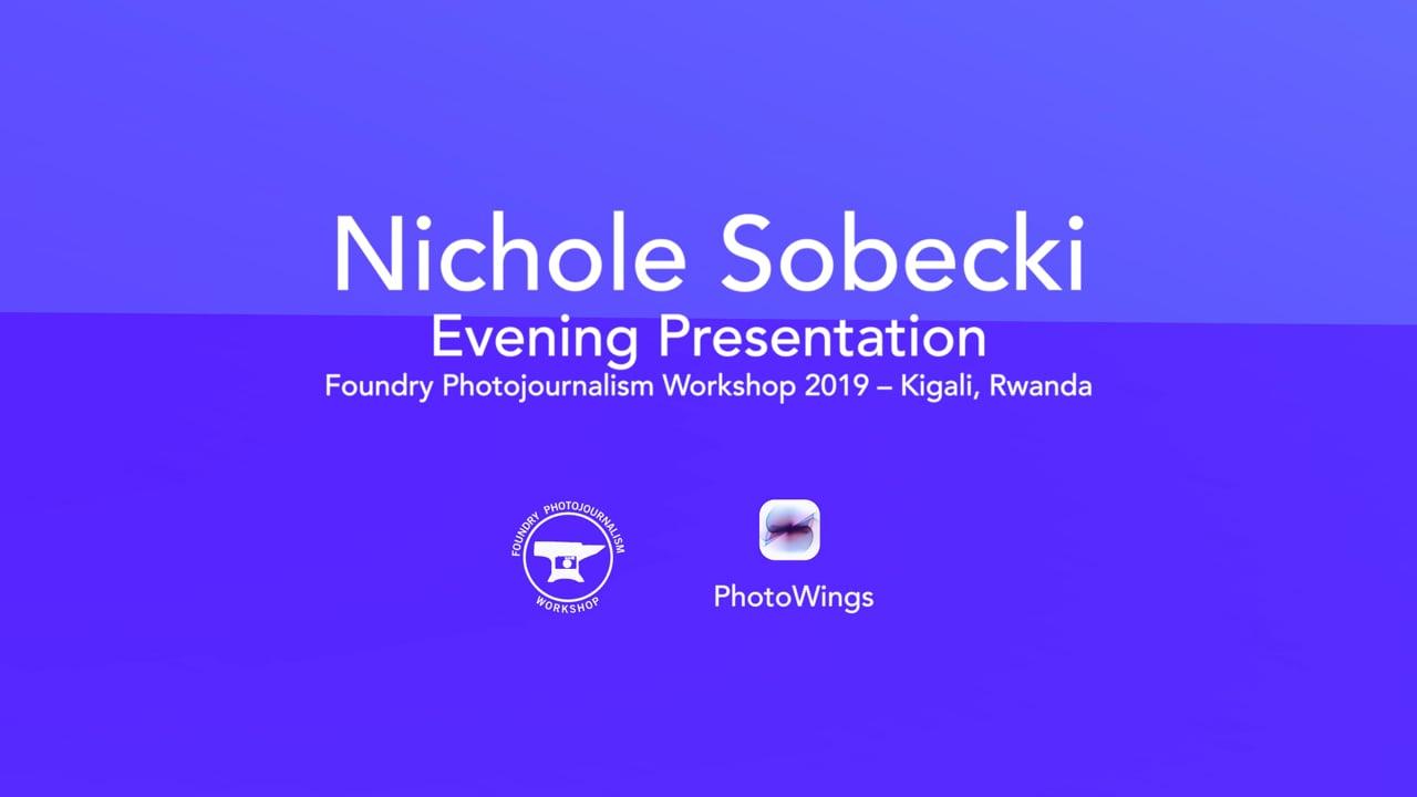 Nichole Sobecki  Foundry Presentation
