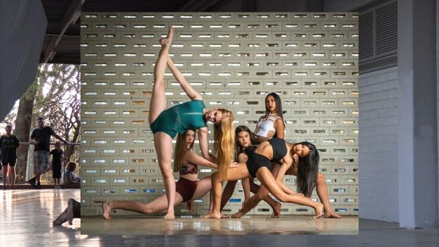 JOZI Youth Dance Company photoshoot - behind the scenes