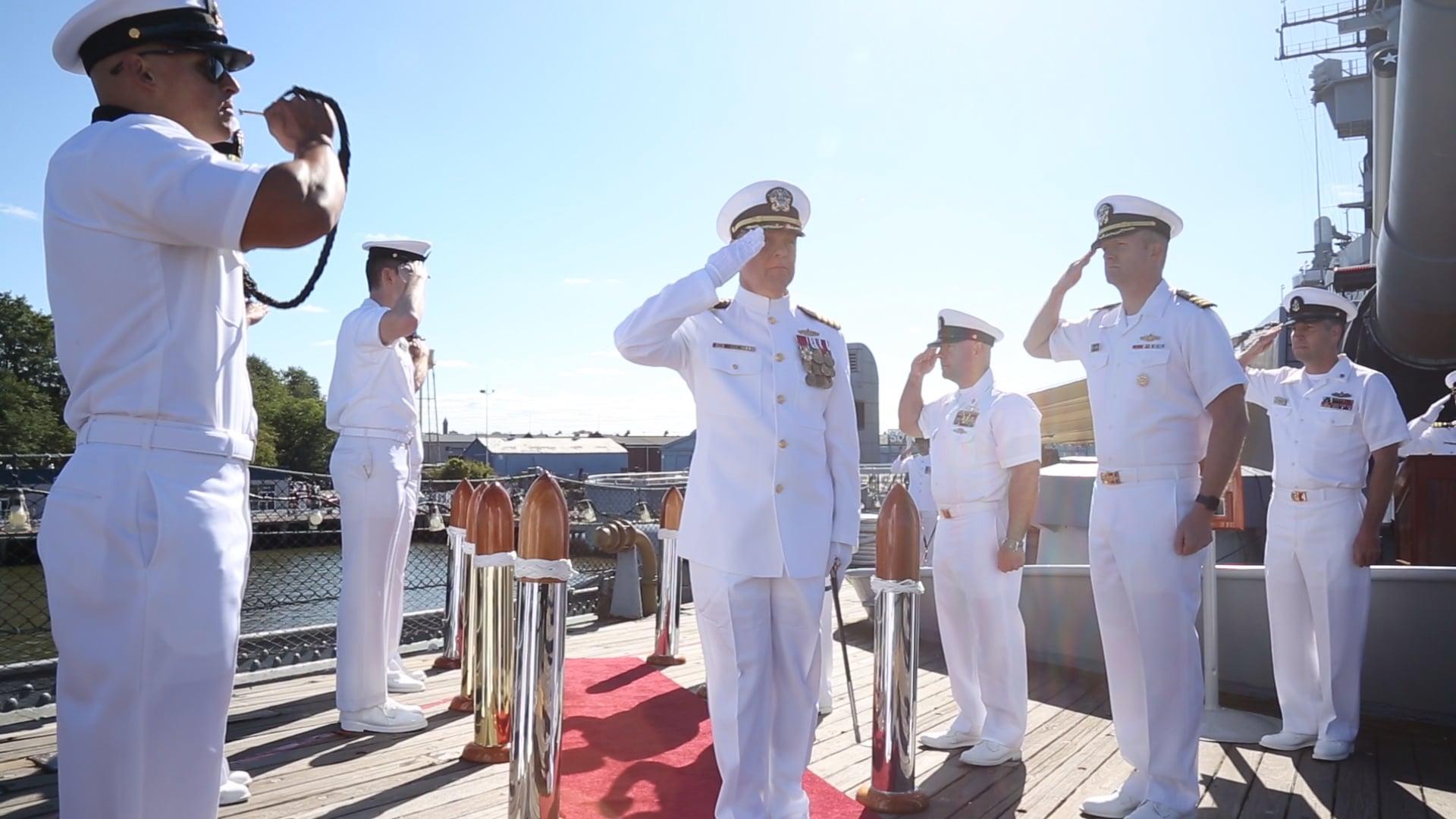 Admiral Blackmon Promotion Ceremony