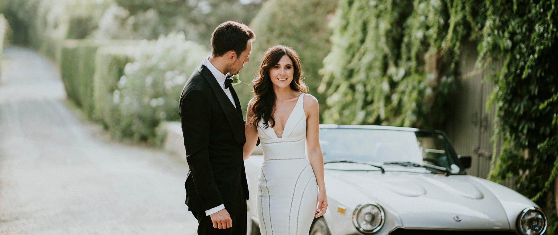 Jessica & Andrew Wedding Video Filmed at Tuscany, Italy