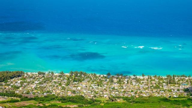 Nature Wonders of Oahu Island, Hawaii HDR