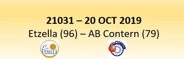 N1D 21031 Etzella Ettelbruck (96) - AB Contern (79) 20/10/2019