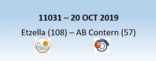 N1H 11031 Etzella Ettelbruck (108) - AB Contern (57) 20/10/2019