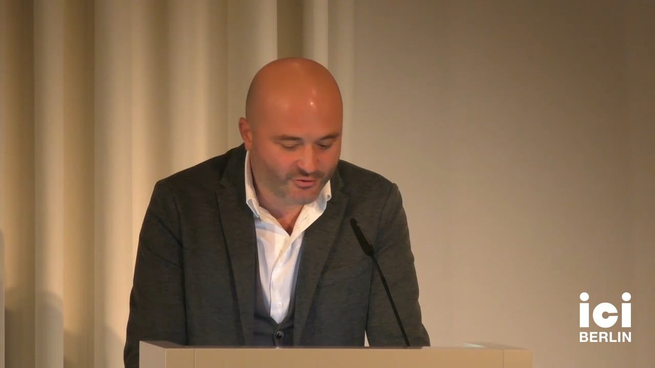 Talk by Vassilios Paipais
