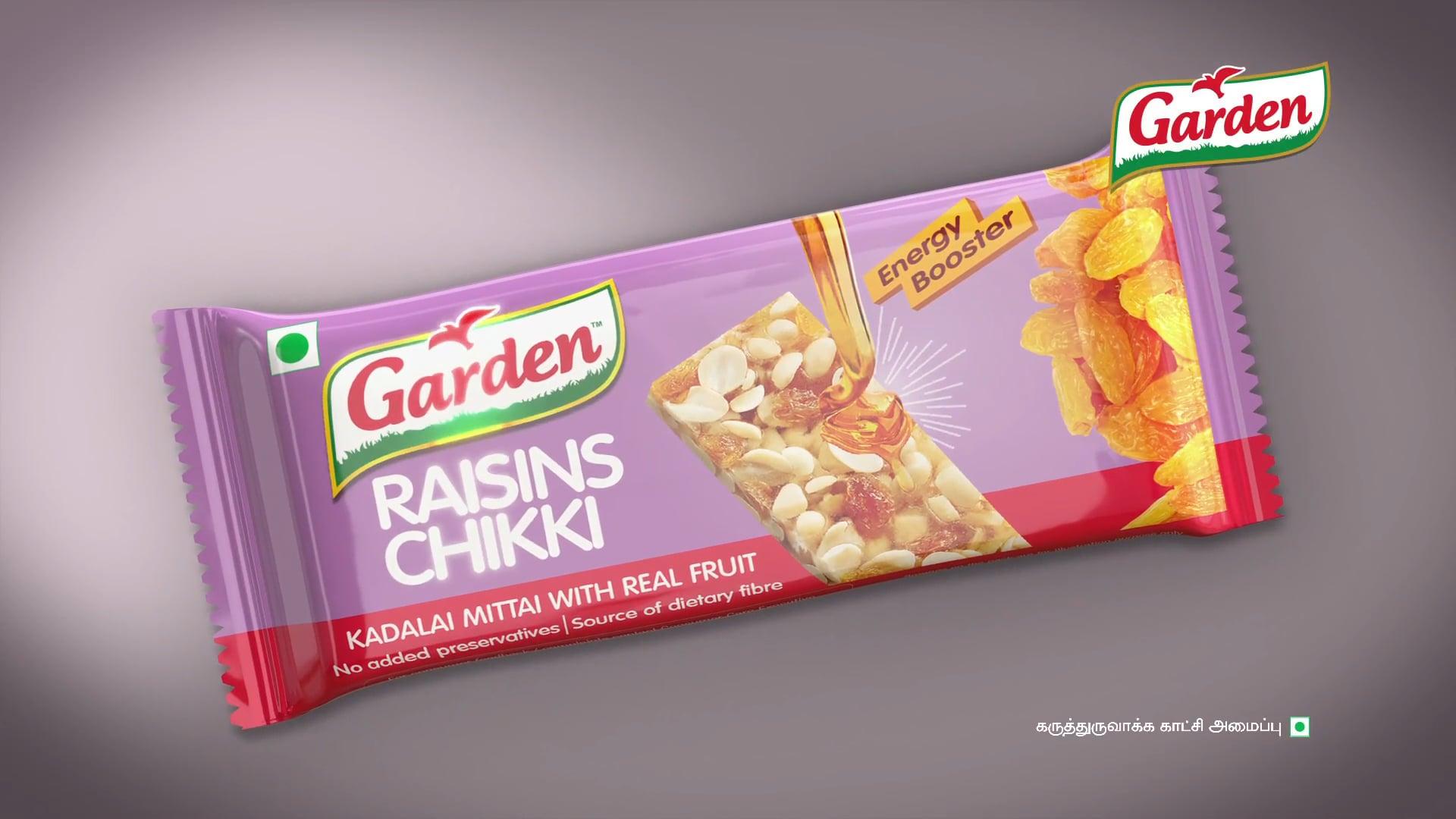 Garden Chikki - RAISIN 20 SEC