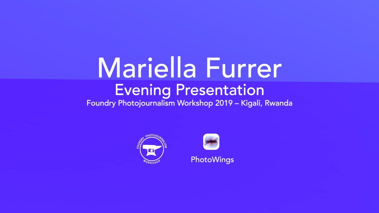 Mariella Furrer Foundry Presentation