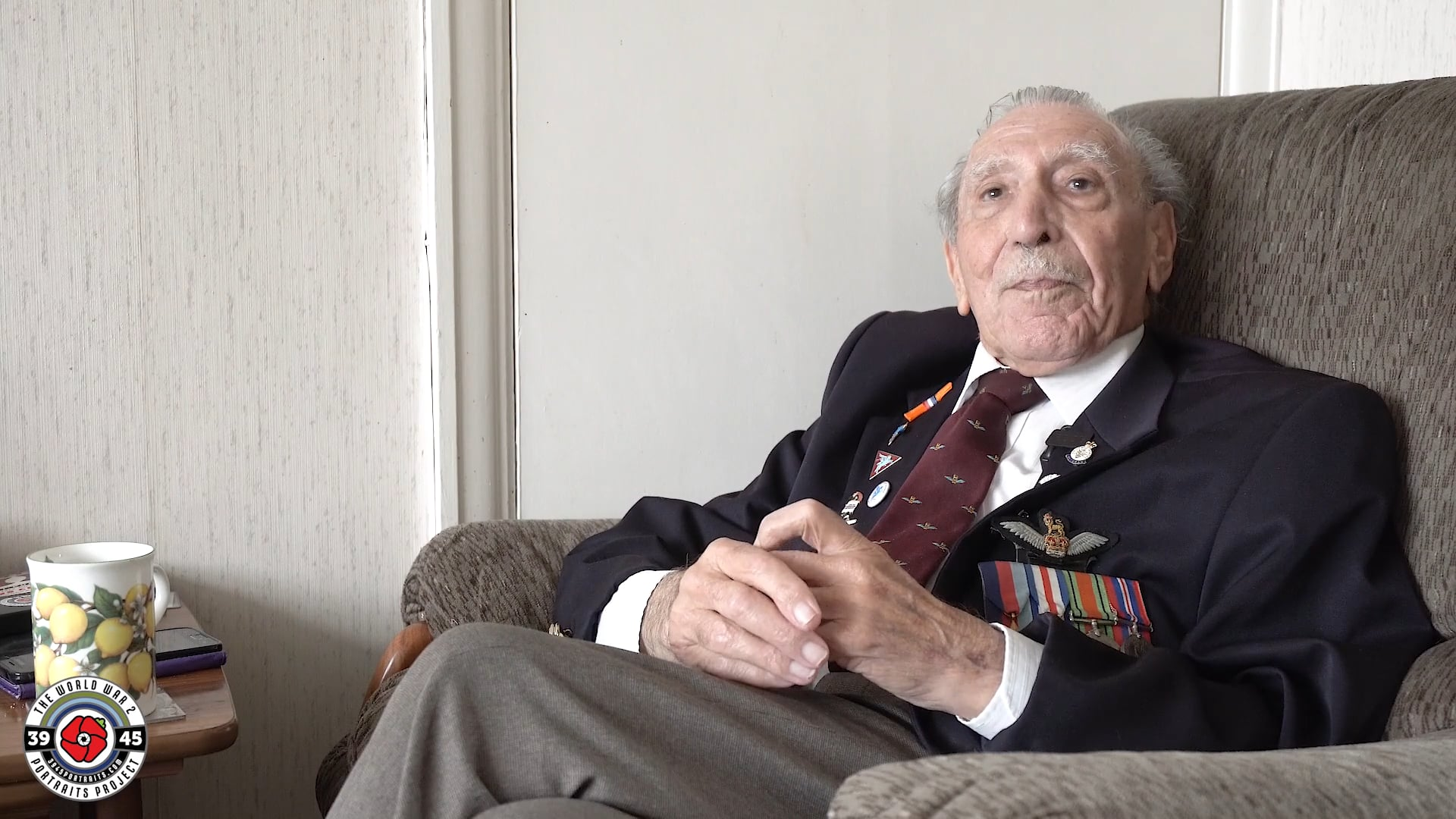 Frank Ashleigh: There were Germans everywhere
