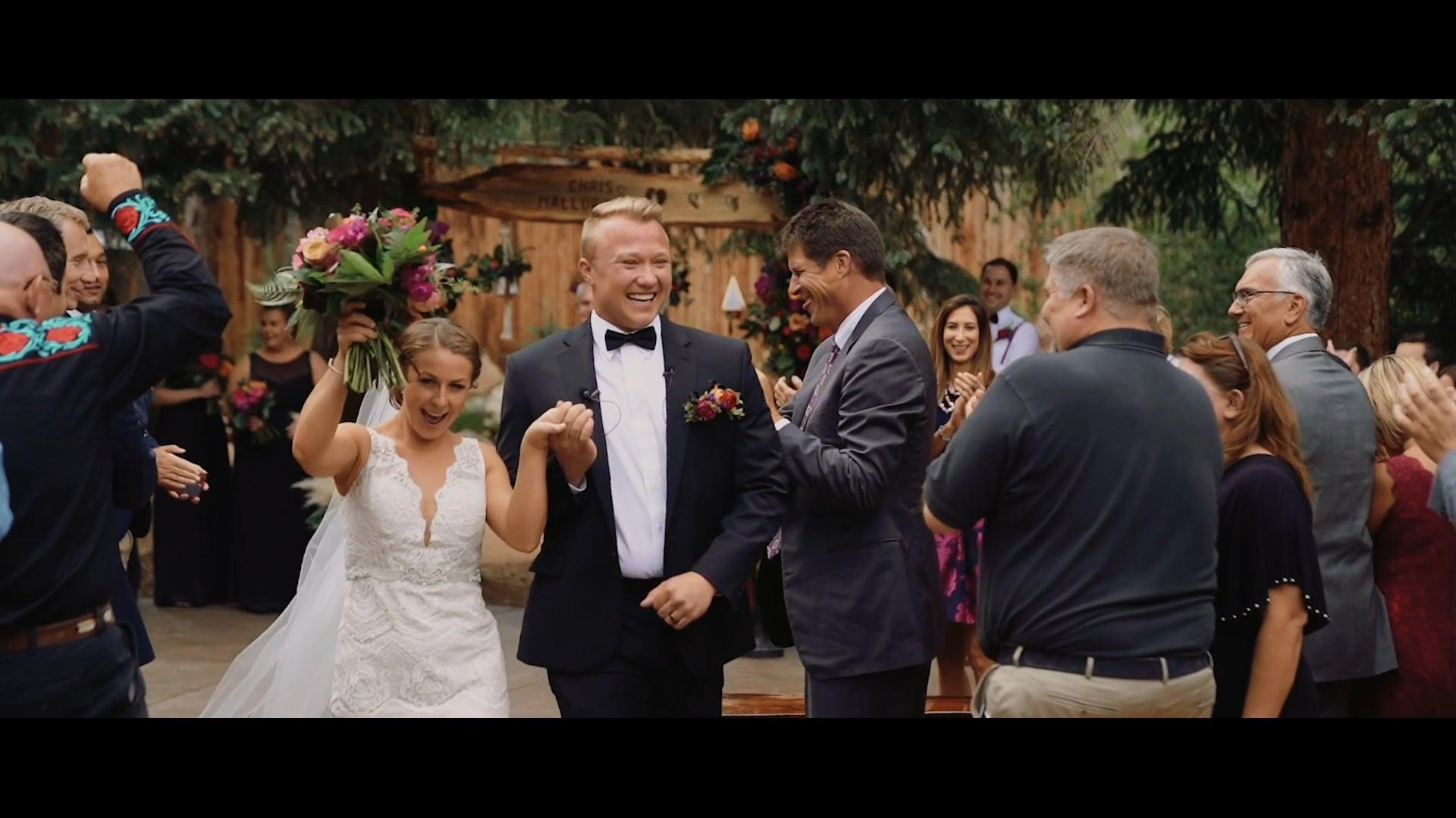 Idaho Springs Wedding // Mallory + Chris