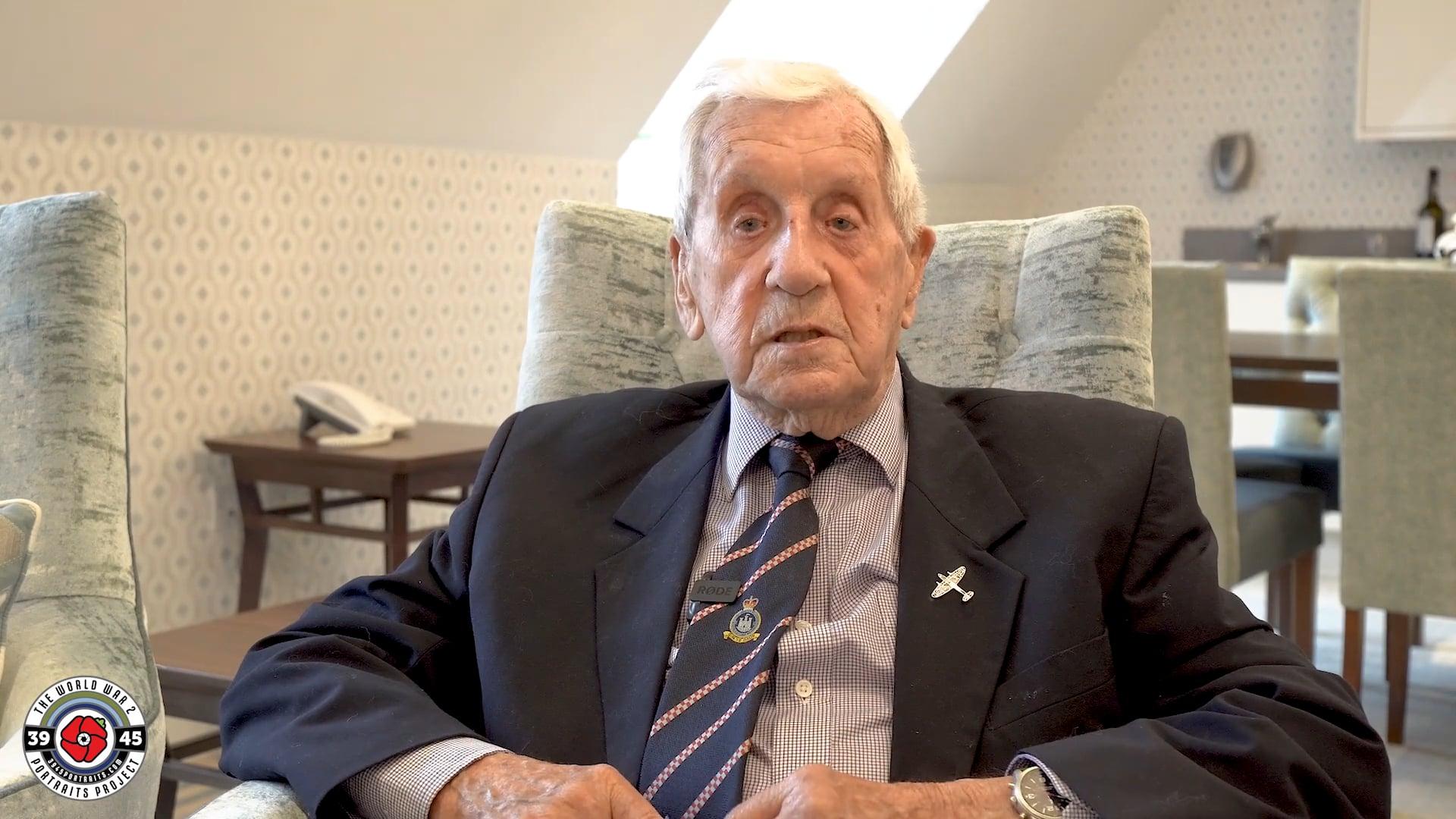 Squadron Leader Allan Scott DFM: The Spitfire was ideal