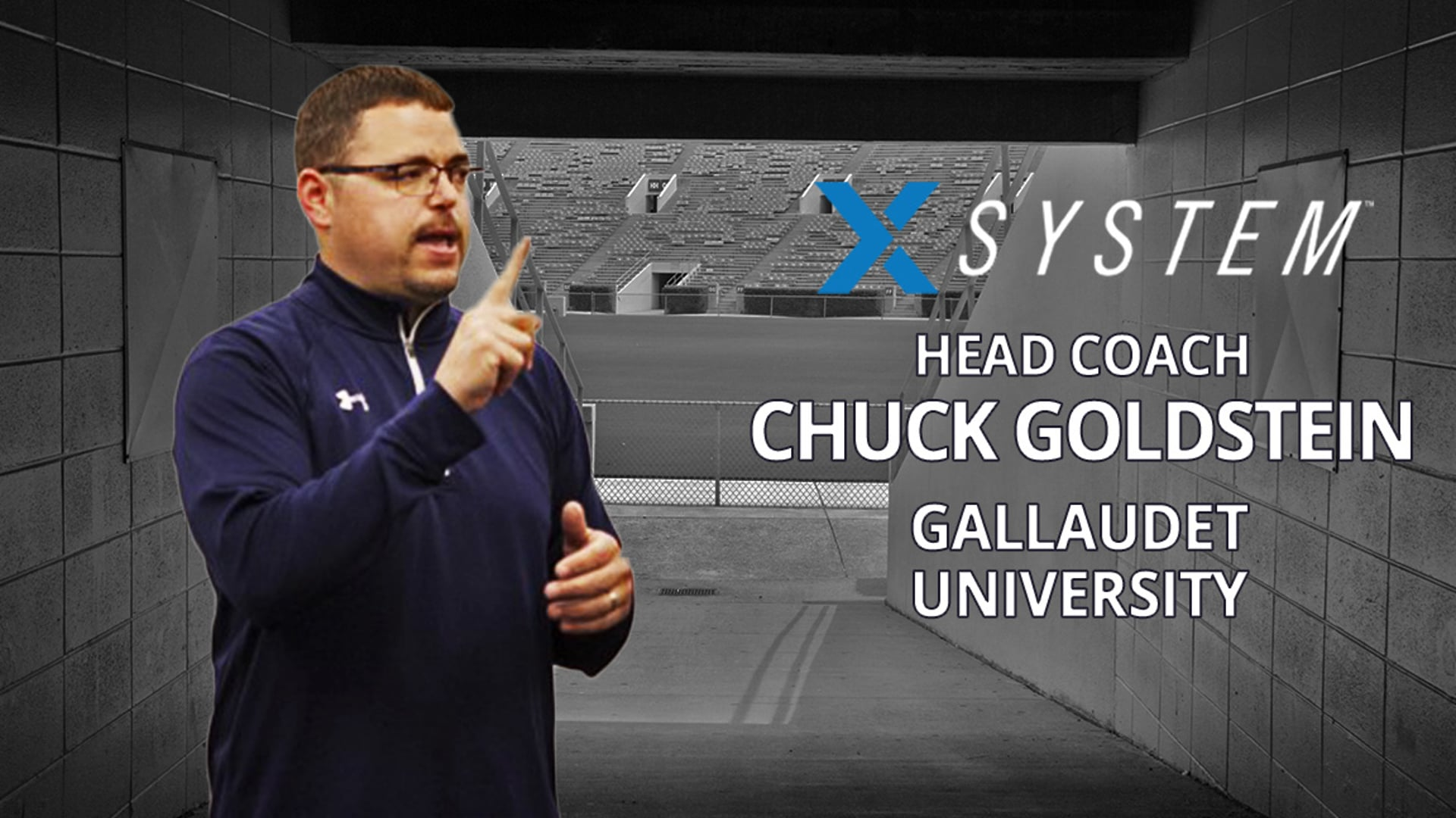 XSystem: Chuck Goldstein, Gallaudet University