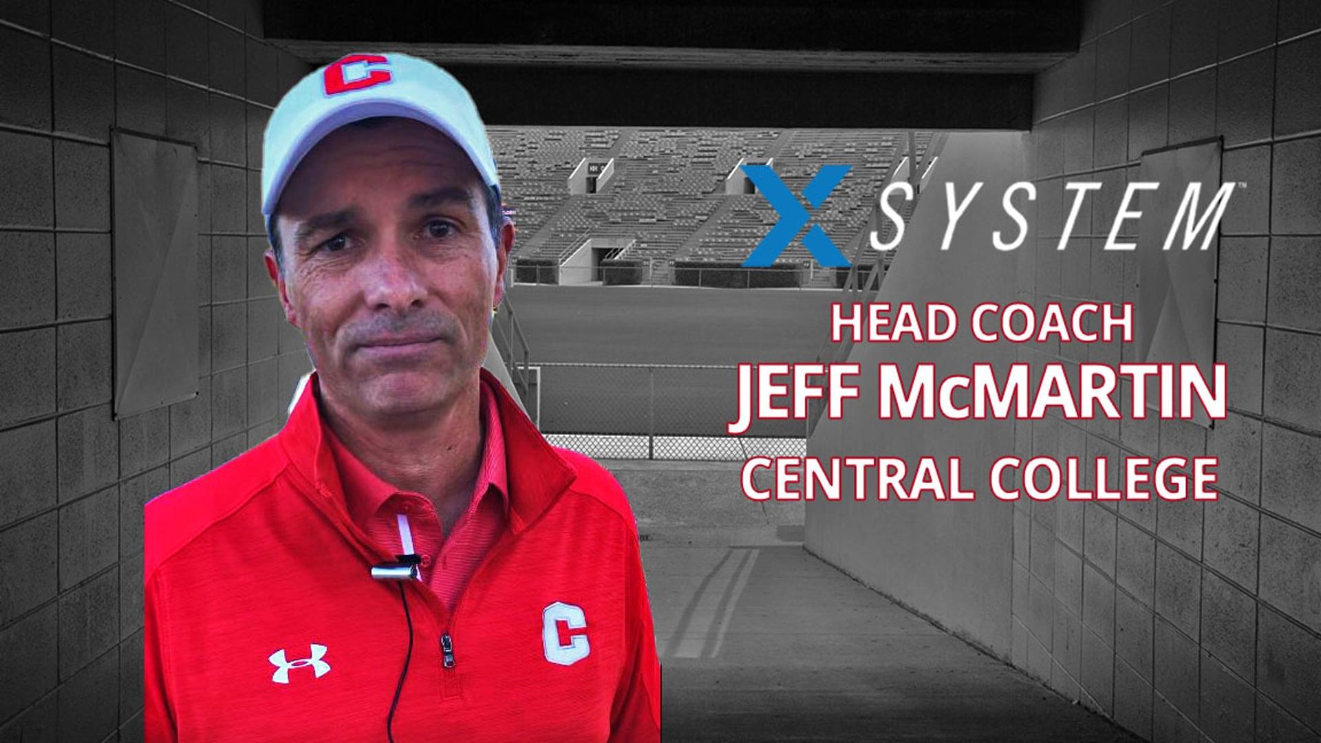 XSystem: Jeff McMartin, Central College