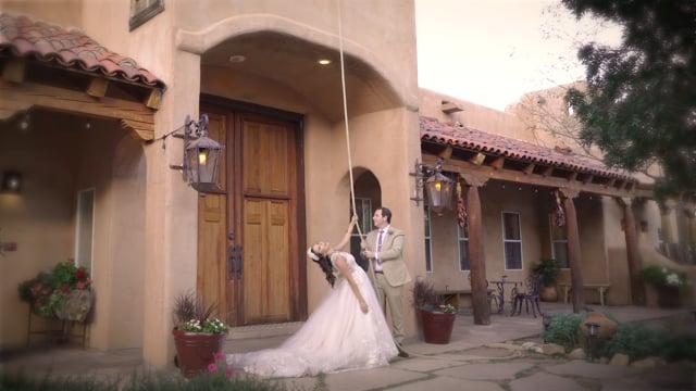 Vitoria + Matthew Wedding Highlights Teaser - Historic Hacienda dona Andrea Boutique Estate, Santa Fe NM - Oct 2019 (7min)