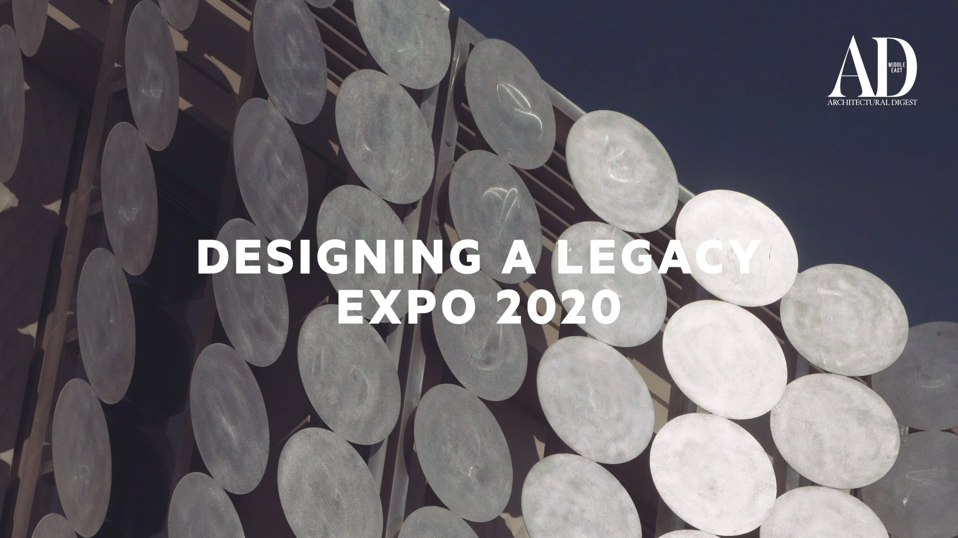 Designing A Legacy - Expo 2020