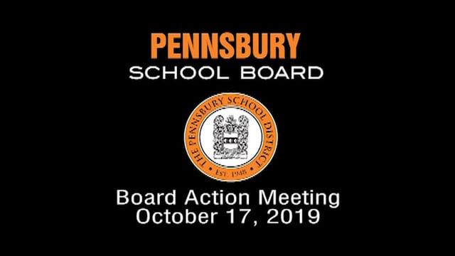 Pennsbury School Board Meeting for October 17, 2019