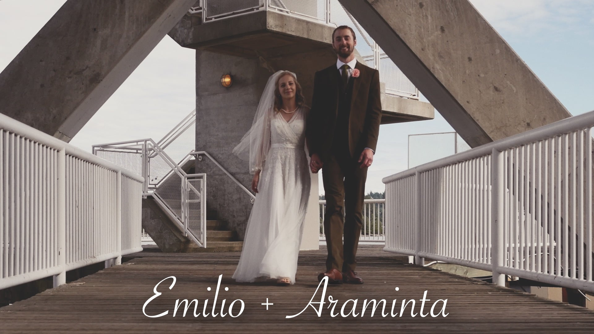Emilio and Araminta's Riverboat Wedding