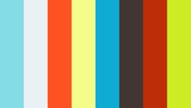 Trainer talking with powerpoint slides