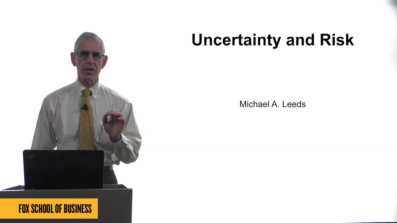 61627Uncertainty and Risk