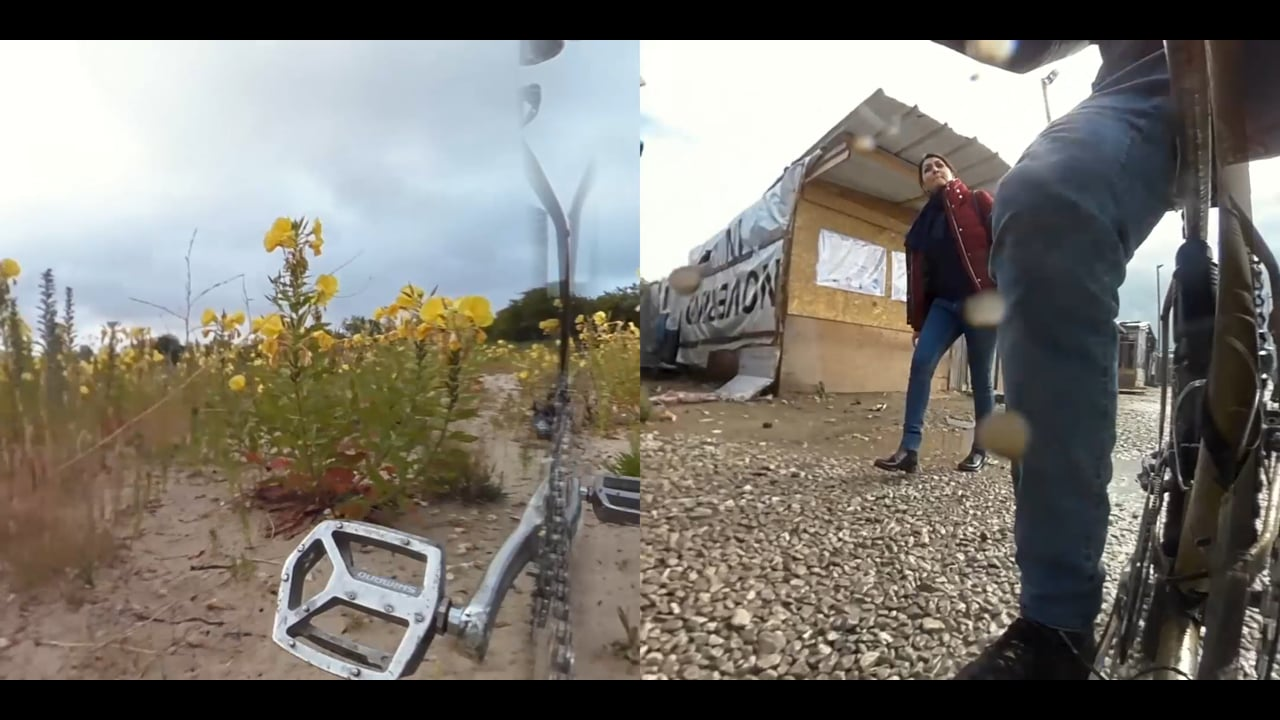 Calais Then (2016), and Then (2019), a video by Liam Healy