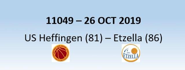 N1H 11049 US Heffingen (81) - Etzella Ettelbruck (86) 26/10/2019