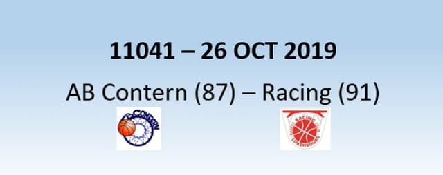 N1H 11041 AB Contern (87) - Racing Luxembourg (91) 26/10/2019