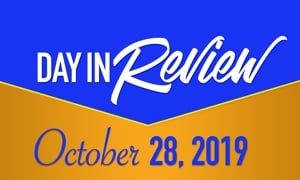 HIS Morning Crew Day in Review: Monday, October 28, 2019