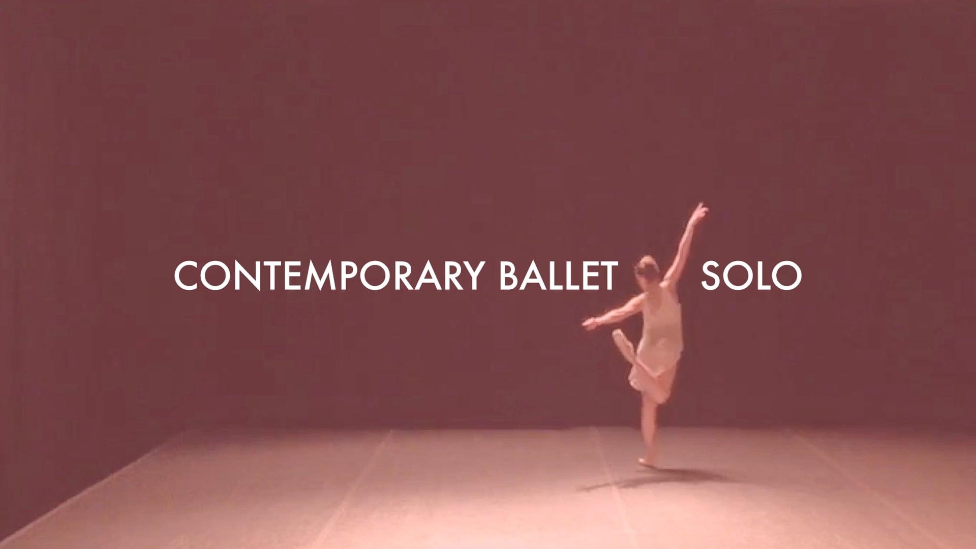 """Contemporary Ballet Solo """"KENKA"""""""