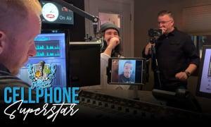 Jordan Feliz surprises Aaron | Cell Phone Superstar