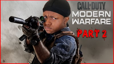Modern Warfare Hype! Shooting Stuff Up With My Ninjas! (Part 2) - Stream Replay