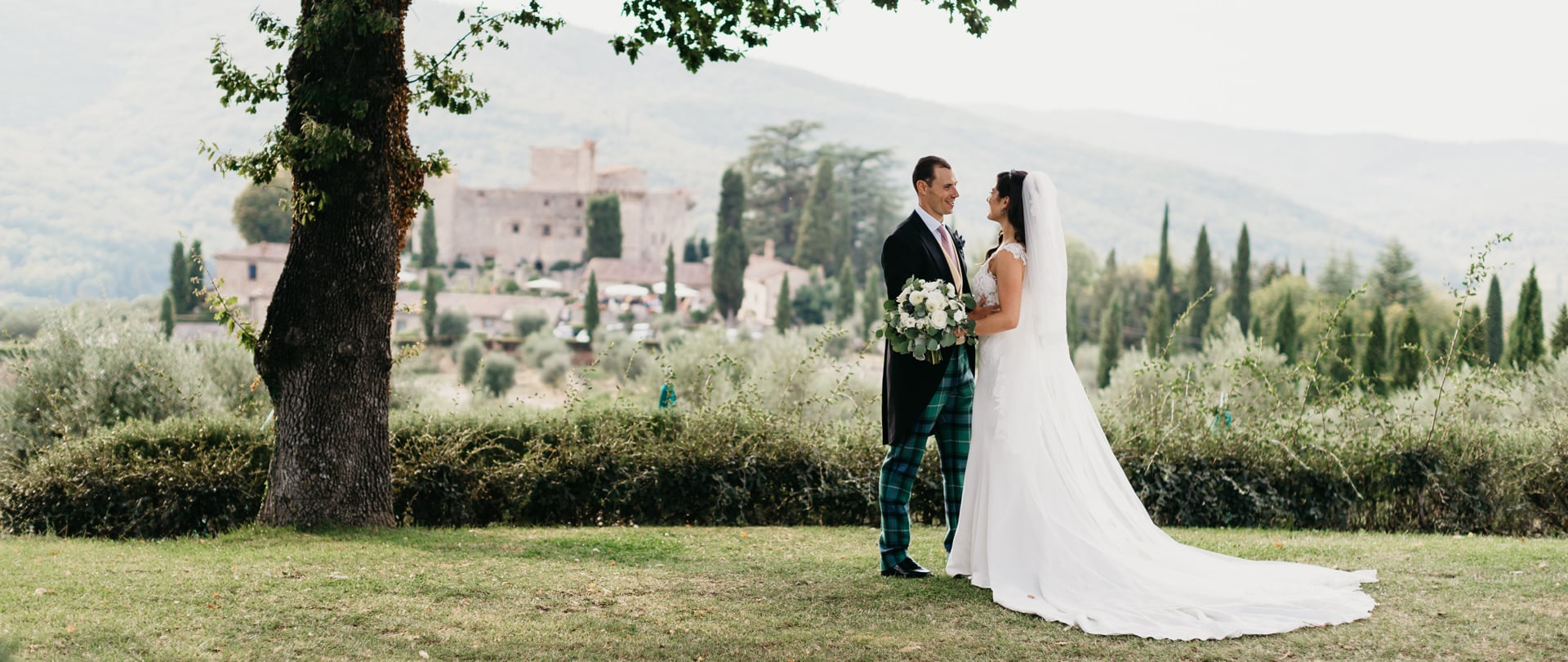 Zayna & Patrick Wedding Video Filmed at Tuscany, Italy