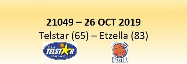 N1D 21049 Telstar Hesperange (65) - Etzella Ettelbruck (83) 26/10/20019