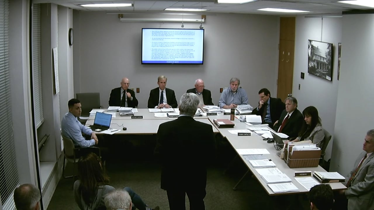 Town of New Castle Zoning Board Meeting 10/28/19