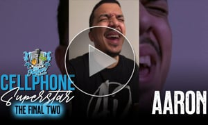 Aaron | The Final Two - Cellphone Superstar