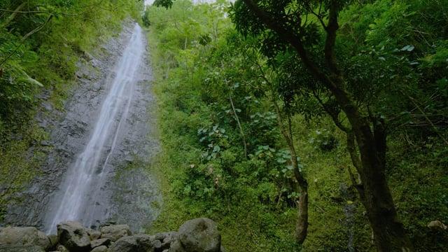 Oahu Waterfalls, Hawaii