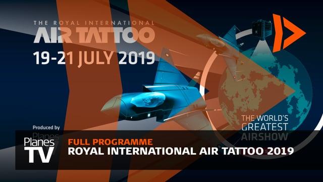 Royal International Air Tattoo 2019 Main Programme