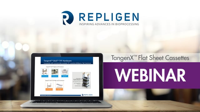 Webinar: Impact of Single-use Tangential Flow Filtration on Downstream Bioprocessing