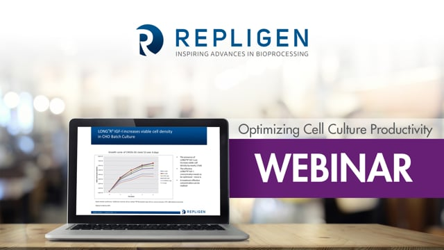 Webinar: Optimizing Cell Culture Productivity: New Findings on the Impact of Recombinant Protein Supplements