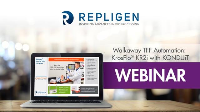 Webinar: Walkaway TFF Automation: KrosFlo® KR2i with KONDUiT