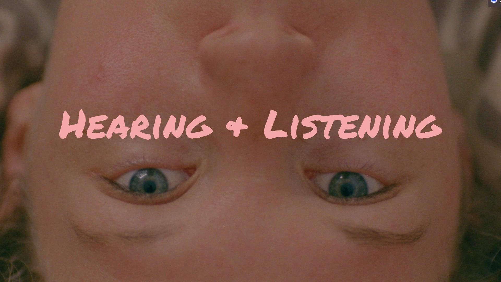 HEARING & LISTENING - trailer