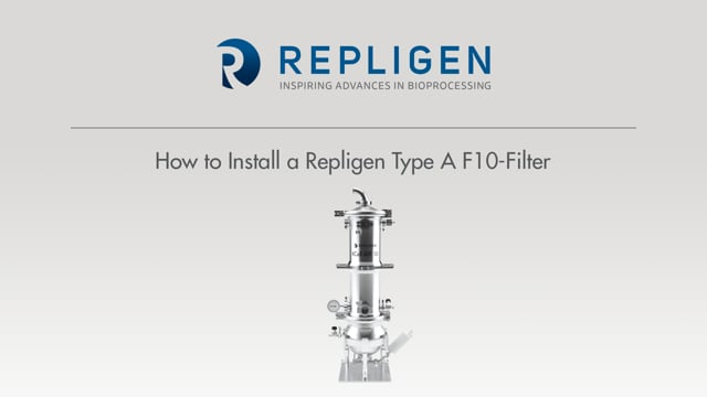 Tutorial: How to Install a Repligen Type A F10-Filter