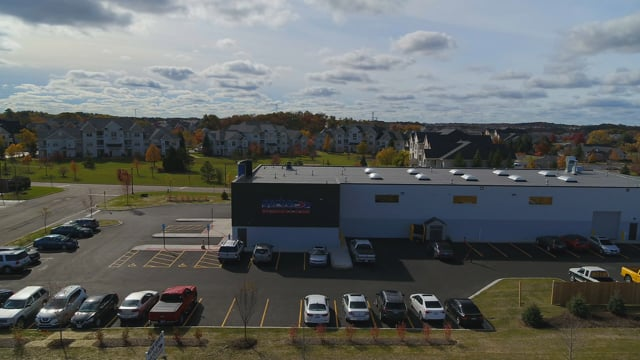 Gerber Collision - Round Lake, IL - Commercial Real Estate Drone Video