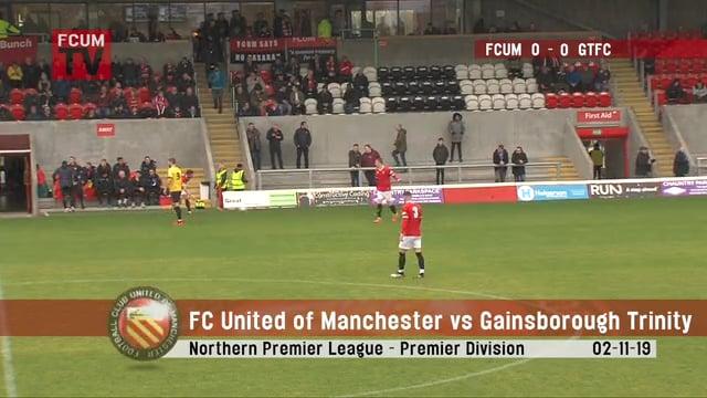 FCUM vs Gainsborough Trinity - Highlights - 02-11-19