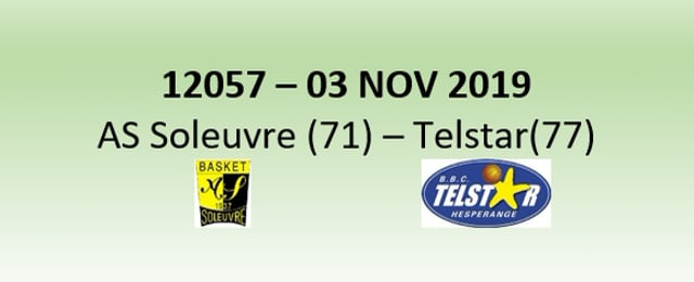 N2H 12057 AS Soleuvre (71) - Telstar Hesperange (77) 03/11/2019