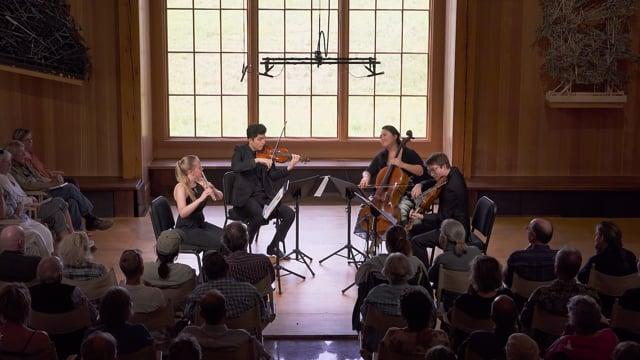 Mozart: Flute Quartet in D Major, K. 285, Allegro - Emma Resmini and the Calidore String Quartet