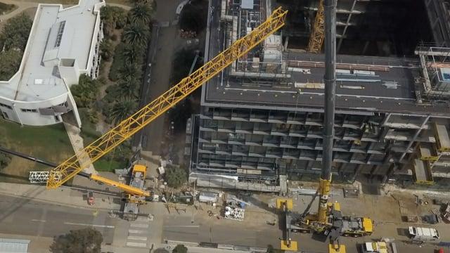 Tower Crane Decommission