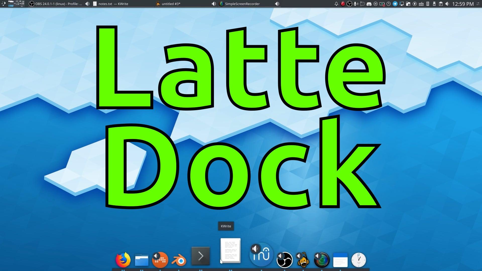 Latte Dock