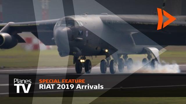 RIAT 2019 Arrivals