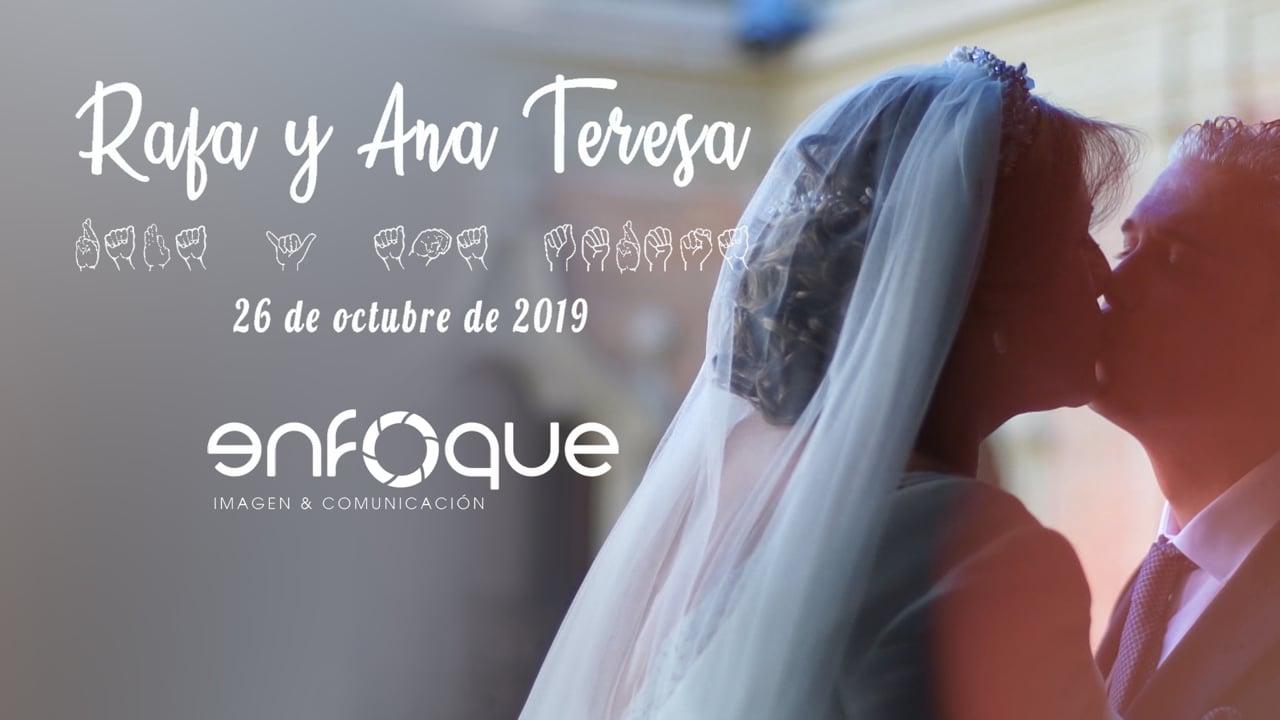 Rafa y Ana Teresa   26 de octubre de 2019   Tráiler Boda en Lucena